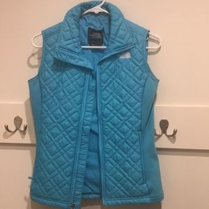 The North Face- Vest- Turquoise - sz- XS